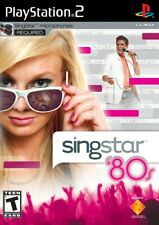 Singstar 80S PS2 Playstation 2 Game Complete