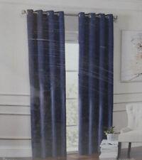 """Garland Lined Grommet Top Room Darkening 108"""" Window Curtain Panel in Navy"""