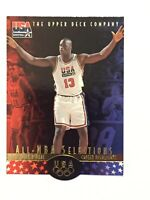 SHAQUILLE O'NEAL 1996 UPPER DECK USA ALL-NBA SELECTIONS DIE-CUT #SO18 MINT!!