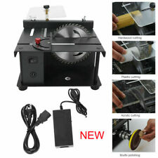 Mini Table Saw Small Woodworking Electric Bench Saw Handmade DIY Tool NEW