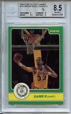 "1983-84 Star ""Celtics Champs"" #18 Kareem Abdul-Jabbar BGS 8.5"