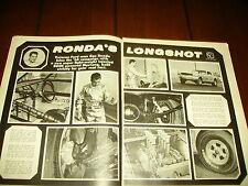 1966 MUSTANG GAS RHONDA RACE CAR  ***ORIGINAL ARTICLE***