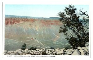 Meteorite Mountain near Canyon Diablo, AZ Fred Harvey Postcard *5N(2)7
