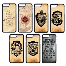 HARRY POTTER Hogwarts Phone Case Cover iPhone 4 5 6 7 8 Plus X Comp (S2)
