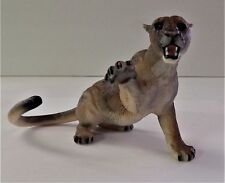 Breyer Reeves Kohana Cougar Grey Brown Black Wildlife Kitty Cantrell Statue Toy