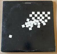 CHESS!! ORG 1984 DBL VINYL LP!! ONE NIGHT IN BANGKOK!! HAS ORG BOOKLET!