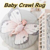 Soft Kids Baby Playmat Animal Floor Cotton Crawl Gym Rug Picnic Carpet Pad