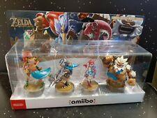 Four Champions Quattro Campioni Amiibo Nintendo Switch Lotto Zelda BOTW Nuovo