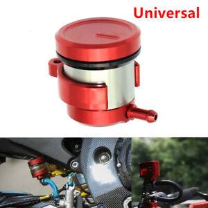 CNC Billet Aluminum Motorcycle Fluid Reservoir Oil Cup Front Brake Clutch Tank