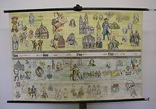 Schulwandkarte WeltGeschichte 1500-1789 Neuzeit Neue Welt Königreich 122x82~1958