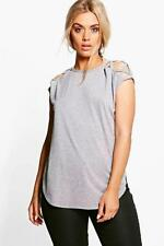 Boohoo Lace T-Shirts for Women
