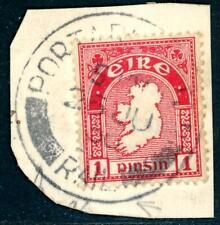 1930 GB Portarlington Rail double circle postmark on piece