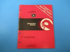 John Deere Operators Manual Om-N159514 Harrow Attachment Issue E9 M5106