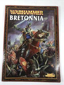 Bretonnia Armies Army Book Codex Rulebook 6th Edition Warhammer Fantasy B4