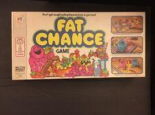 Vintage & RARE 1978 Fat Chance Board Game  Milton Bradley