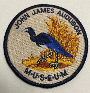 John James Audubon State Park & Museum Iron On Patch 3Inch Birding Bird Watching