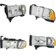CH2502123 Headlight for 99 Dodge Ram 1500 Driver Side