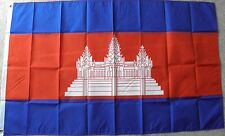 Cambodia International Country Polyester Flag 3 X 5 Feet