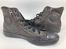 7c8c7cac1cb4 Converse CT Double Zip HI Mole Brown Leather Chuck Taylor Womens 7 Shoes  140002C