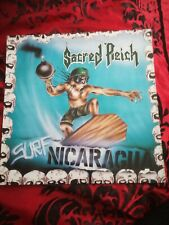 "Sacred Reich Surf Nicaragua 12"" EP Single label title Error"