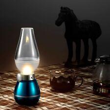 Flameless Candle Lantern Table Lamp Kerosene Lamp Bedside Lamp Small Night Light