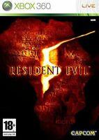 Resident evil 5 version classics pour console Xbox 360, jeu vendu en loose