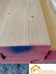 tavola legno abete essiccato grezzo carpenteria cm 10 x mt 2 tettoia edilizia