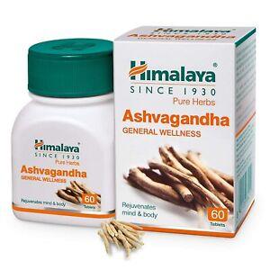 Himalaya Ashwagandha General Wellness |Rejuvenates mind & body | 60tbs / 250mg