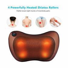 Massage Pillow Shiatsu Deep Kneading Massager for Neck Back Shoulder Pain Relief
