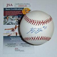 BREWERS Ryan Braun signed baseball w/ #8 JSA COA AUTO Autographed Milwaukee MVP
