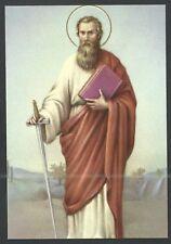 New listing Holy card postale de San Pablo image pieuse santino estampa