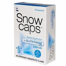 Authentic Snow Caps L-Glutathion Capsules