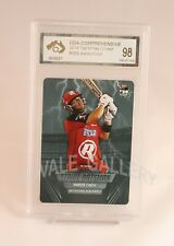 2014 Tap'N'Play Aaron Finch Card Graded Pristine