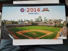 Chicago Cubs 2014 Season Ticket Book- Combo Plan