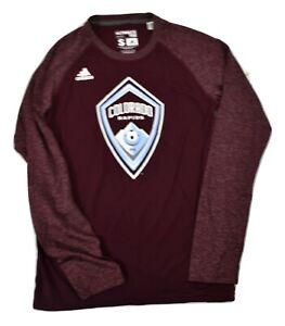 adidas Mens MLS Colorado Rapids Climalite Ultimate Tee Shirt New S, XL