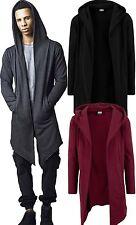 Urban Classics Herren Cardigan extra lang long Jacke Strickjacke Umhang oversize