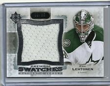 2013-14 Ultimate Collection KARI LEHTONEN Premium Swatches Jersey Serial # 3/35