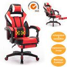 Massage Gaming Racing Stuhl Chefsessel Chair Sportsitz Drehstuhl Bürostuhl