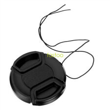 62mm snap on center pinch front lens cap for Canon Nikon Tamron Sony Camera fo