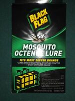 BLACK FLAG MOSQUITO OCTENOL LURE BZ-OCT1 Fits Most Zapper Brands