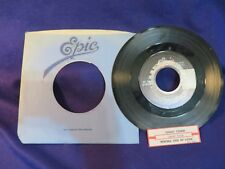CHEAP TRICK Ghost Town/Wrong Side Of Love 45 Record EPIC RECORDS