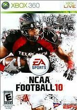 NCAA Football 10 (Microsoft Xbox 360) Disc Only Free Shipping 100% Guaranteed