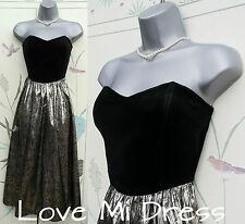 Gorgeous Principles  50's Style Strapless Prom Dress 10 EU38