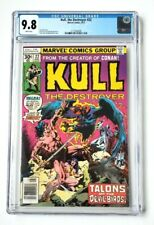 KULL THE DESTROYER #22 CGC 9.8 WHITE PAGES 1977 MARVEL NICE!