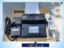 NEW Dell E-Port PR03X with new Dell PA-4E Adapter.