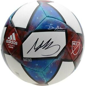 Gianluca Busio Sporting Kansas City Signed 2019 MLS Top Competition Soccer Ball