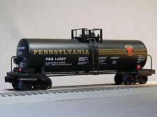 LIONEL O GAUGE UNIBODY TANK CAR 14567 freight train 5 stripe prr 6-82436-T NEW
