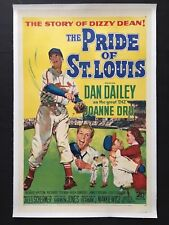 THE PRIDE OF ST LOUIS '52 DAN DAILEY AS DIZZY DEAN ST LOUIS CARDINALS PITCHER