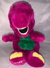 "Vintage Barney The Purple Dinosaur Hand Puppet Dakin 1991 Soft Plush 15"""