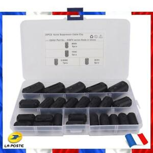 25x Cable Ferrite Rings 3.5mm/5mm/7mm/9mm Clip On Noise Filters Suppressor